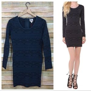 NWT Parker Katrina Knit Dress - Eclipse - Large